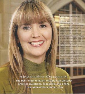 ADA Times, nutritionist at Eastern Illinois University