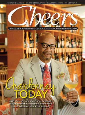 Wine Coordinator at Bin 36 in Chicago for Cheers Magazine