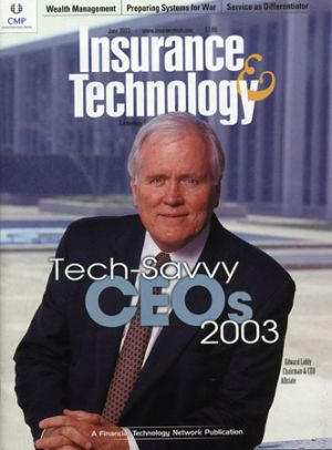 Allstate CEO, Insurance & Technology magazine